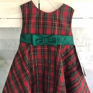 New W Tags Rare Editions 12M Holiday Toddler Dress